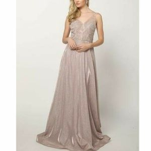 New formal prom evening bridesmaid party dress